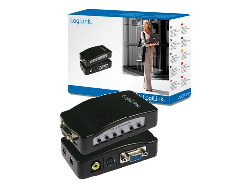 LogiLink-PC-to-TV-Converter-VGA-zu-Chinch-S-Video